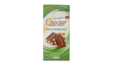 Choceur Milk Hazelnut Block Chocolate 200g