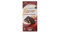 Choceur Dark Almond Block Chocolate 200g