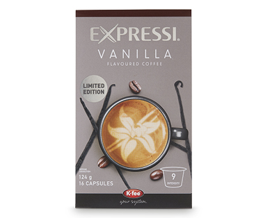 Expressi Vanilla Flavoured Coffee - Limited Edition