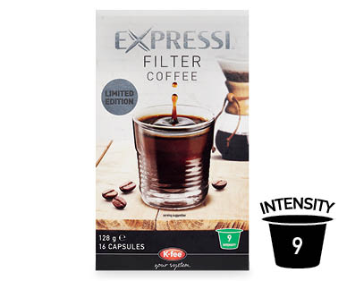Expressi Filter Coffee Limited Edition 16pk