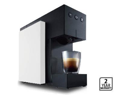 EXPRESSI Multi Beverage Capsule Machine - White