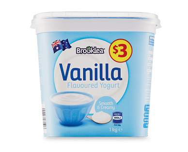 Brooklea Family Lite Yoghurt 1kg