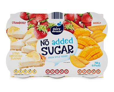 Dairy Dream Greek Style Yogurt No Added Sugar 750g