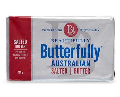 Beautifully Butterfully Salted Butter 500g