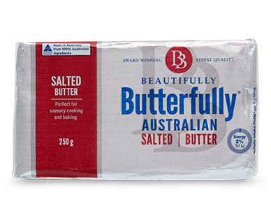 Beautifully Butterfully Salted Butter 250g