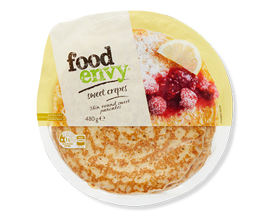Food Envy Sweet Crepes 8pk/480g