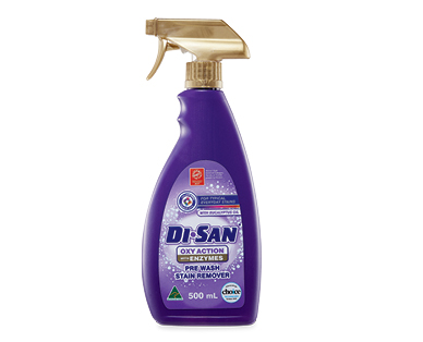 Di San Pre Wash Stain Remover 500ml – Oxy Action