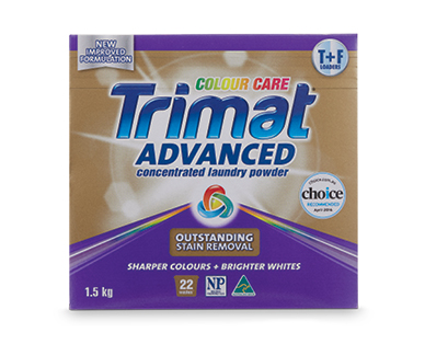 Trimat Advanced Laundry Powder Concentrate Colour Care 1.5kg