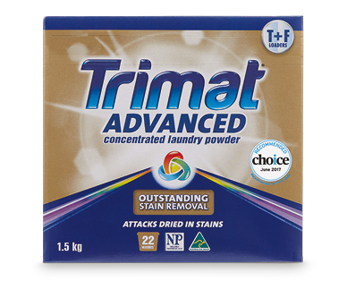 Trimat Advanced Laundry Powder Concentrate 1.5kg – Regular