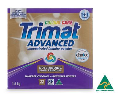 Trimat Advanced Laundry Powder Concentrate Colour Care 1.5kg