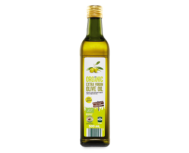 Just Organic Extra Virgin Olive Oil 500ml