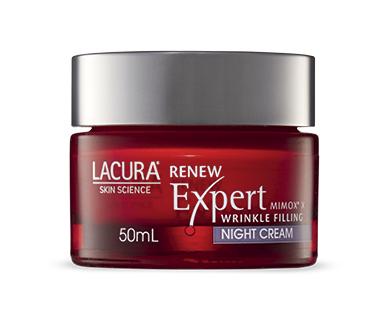 LACURA® Skin Science Renew Expert Night Cream SPF 15 50ml