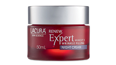 LACURA® Skin Science Renew Expert Night Cream SPF 15 50ml