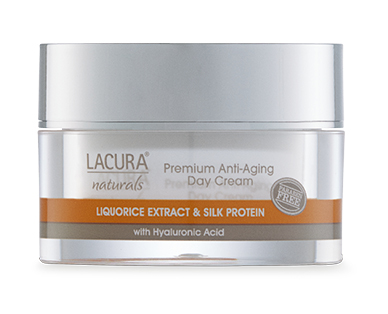 LACURA® Naturals Anti-Aging Day Cream with Liquorice Extract Oil & Silk Protein 50ml