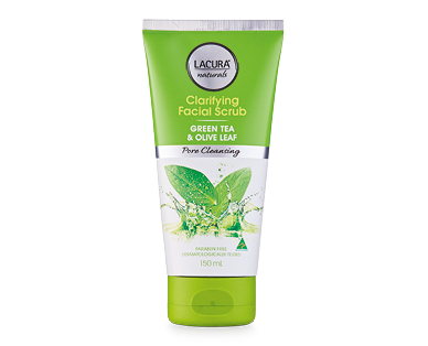 LACURA® Naturals Pore Cleansing Clarifying Facial Scrub 150ml