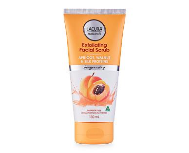 LACURA® Naturals Invigorating Exfoliating Facial Scrub 150ml