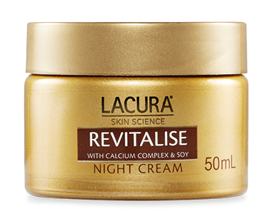 LACURA® Skin Science Revitalise Night Cream with Soy for Mature Skin 50ml