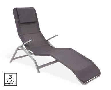 reclining sunlounger aldi australia. Black Bedroom Furniture Sets. Home Design Ideas