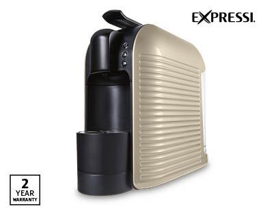 expressi coffee capsule machine aldi australia. Black Bedroom Furniture Sets. Home Design Ideas