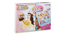 5-in-1 Licensed Wood Puzzles
