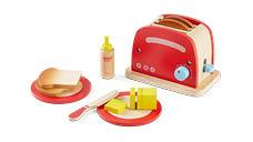 Wooden 4 Slice Toaster