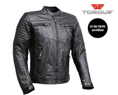 Mens Motorcycle Leather Jacket