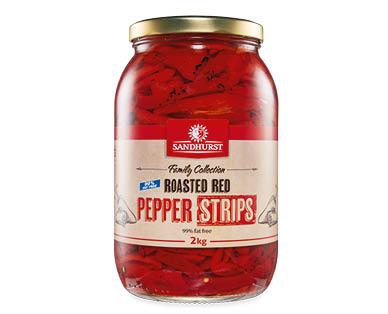 Roasted Red Pepper Strips 2kg