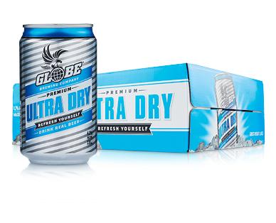 Globe Ultra Dry Lager 24 x 330ml