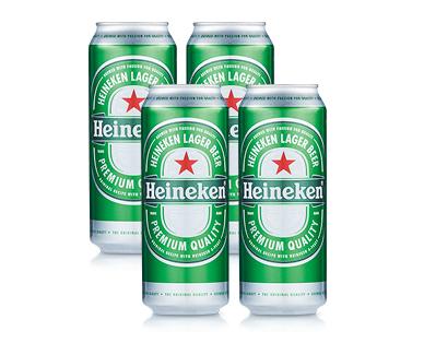 Heineken Premium Lager 4 x 500ml