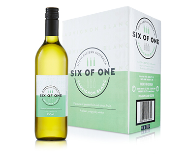 Six Of One Cleanskin Sauvignon Blanc 6 x 750ml