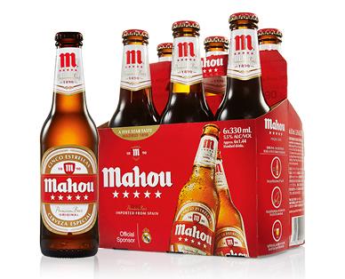 Mahou 5 Star Beer 6 x 330ml