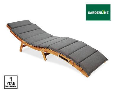 Timber Sunlounger