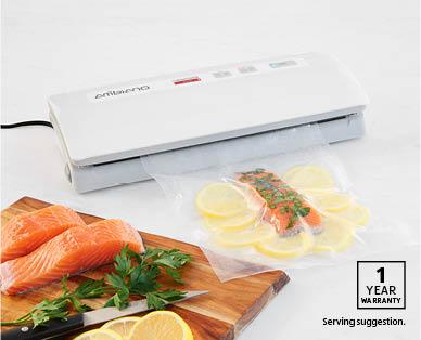 Vacuum food sealer aldi australia for Aldi international cuisine