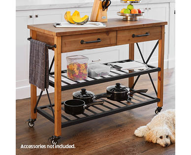 Aldi Kitchen Butcher Trolley : Butcher Trolley - ALDI Australia