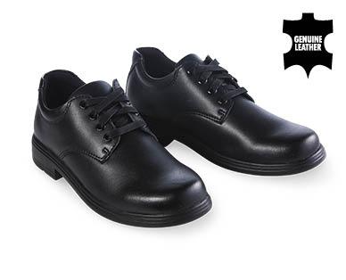 Premium Lace Up Leather School Shoes