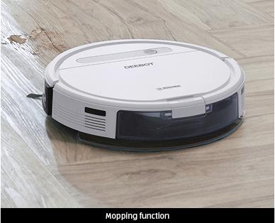 Ecovacs Deebot Ozmo 610 Robot Vacuum Cleaner Aldi Australia