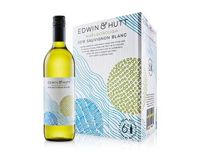 Edwin & Hutt Marlborough Sauvignon Blanc 2018 6 x 750ml