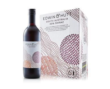 Edwin & Hutt South Australia Shiraz 2016 6 x 750ml