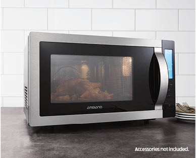 25l Microwave Oven With Grill And Convection Aldi Australia