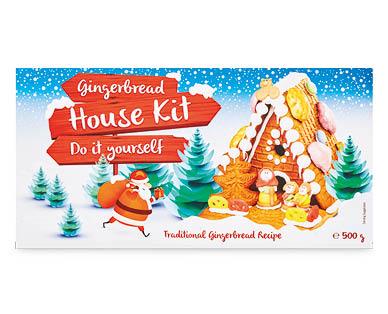 Christmas Gingerbread House Kit.Diy Gingerbread House Kit 500g Aldi Australia