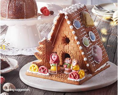 Diy Gingerbread House Kit 500g Aldi Australia