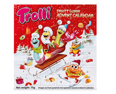 Trolli Advent Calendar 75g