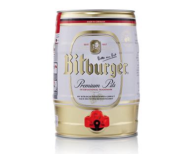 Bitburger Premium Pils 5L Keg