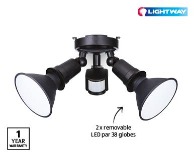 LED Twin Par 38 Security Light