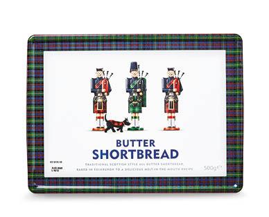 Scottish Shortbread Tin 500g