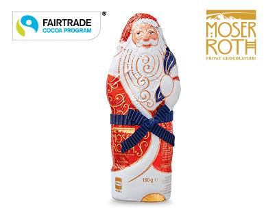 Milk Chocolate Santa Claus 130g