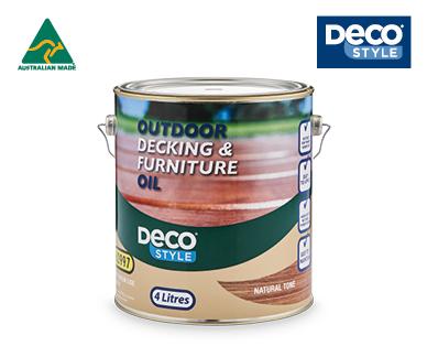 Outdoor Decking & Furniture Oil 4L