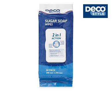 Sugar Soap Wipes 50pk