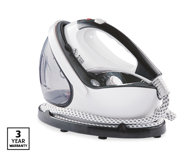 2-in-1 Steam Iron and Garment Steamer