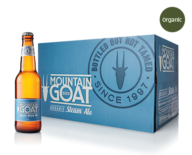 Mountain Goat Organic Steam Ale 24 x 330ml